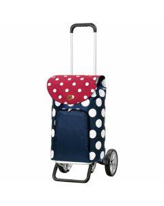 andersen-alu-star-shopper-dots-bleu-et-rouge