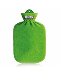 Warmwaterkruik-fleece-groen
