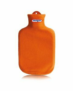 Warmwaterkruik-contour-oranje