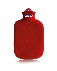 Warmwaterkruik-contour-rood