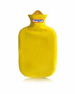 Warmwaterkruik-contour-geel