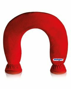 Warmwaterkruik-nek-rood