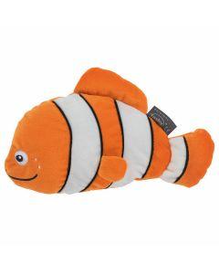fashy-coussin-micro-ondes-graines-de-colza-peluche-poisson-clown-cleo-orange-blanc