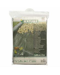 Toile-Anti-Racines-Paysage-noir-3,3-m-x-5-m-Paillage-Protection-Mauvaises-Herbes