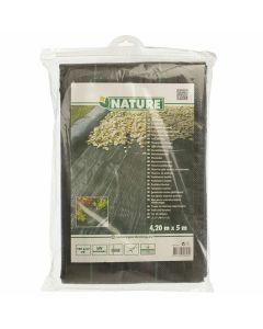 Toile-Anti-Racines-Paysage-noir-4,2-m-x-5-m-Paillage-Protection-Mauvaises-Herbes