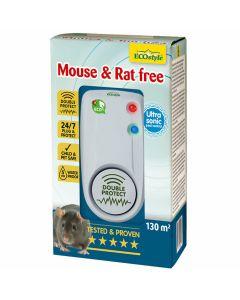 Mouse-&-Rat-Free-130-ECOstyle-Répulsif-Ultrason-Combattre-Souris-et-Rats-Maison