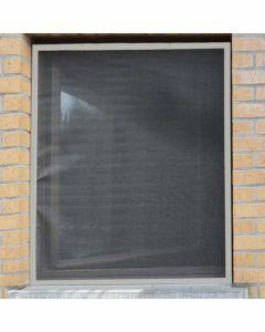 Aluminium-vliegenraam-bruin-120-x-150cm