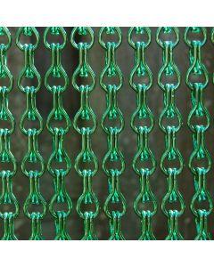 rideau-de-porte-chainettes-aluminium-alusax-vert-differentes-tailles