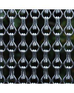Rideau-de-Porte-à-Chainettes-Alusax-argenté-Différentes-Tailles-La-Tenda