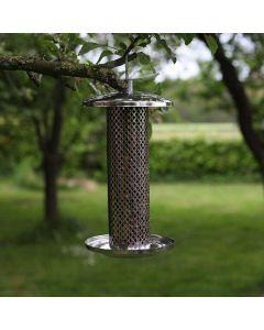voedersilo-noten-vogel-buiten-tuin-hangen-noten