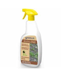 Edialux-Herbi-Green-Ready-Spray Anti-Mauvaises-Herbes-1L-Désherbant-Anti-Mousse-Prêt-à-L'emploi