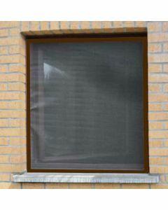 Aluminium-vliegenraam-bruin-100-x-120cm