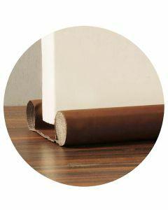 Bas-de-porte-à-glisser-brun-mousse-isolation-porte