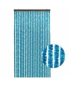 Kattenstaart-blauw-deur