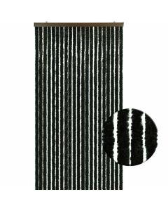 Luxe-kattenstaartgordijn-zwart