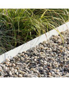Bordure-de-Jardin-Multi-Edge-Metal-Acier-Enduit-Blanc