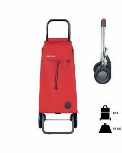 Rolser-boodschappentrolley-stroptas-rood-opvouwbaar-voor