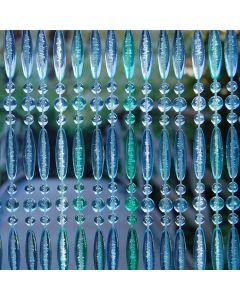 Rideau-de-porte-perles-plastique-vert-bleu-La-Tenda-Stresa