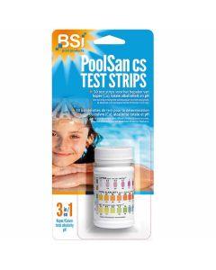 BSI-PoolSan-Test-Strips-Tigettes-Analyse-Piscine-50-pièces