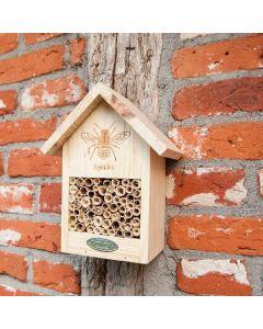 Nichoir-pour-abeilles-dessin-suspension-murale-insecte-maison