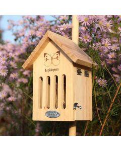 Vlinderkast-met-ingebrande-tekening-insect-huis