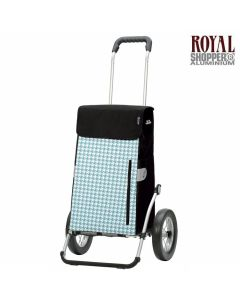 Shopper-Andersen-royal-Tilly-roues-à-rayons-turquoise