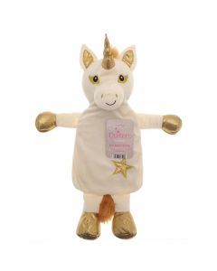 Bouillotte-peluche-licorne-latex naturel-couleur-or